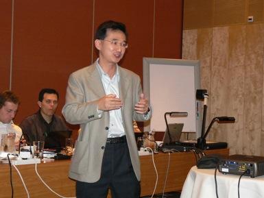 Mr. John Wang from HTC