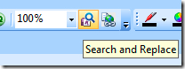 OneNote search and replace PowerToy