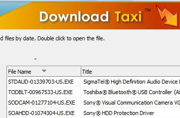 SonyÂ's Download Taxi