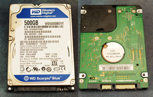 The mother of all notebook hard drives: Scorpio Blue