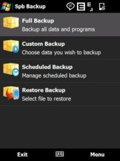 Mobile software Monday: Spb Backup 2.0 for Windows Mobile