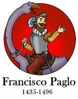 Francisco Paglo, fictional Italian explorer, from Paglo.com