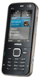 Nokia N78 North American version now available