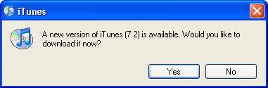 iTunes 7.2