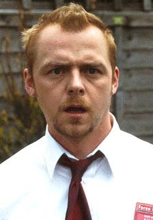 """Simon Pegg in """"Shaun of the Dead"""""""