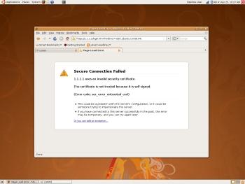 Firefox Cert Problem1