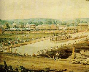 Erie Canal 1829, from the University of Rochester