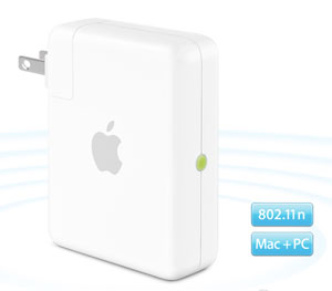 Apple bumps Airport Express to 802.11n
