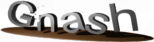 Gnash logo