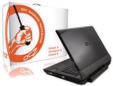 OCZ debuts DIY gaming notebooks