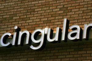 Cingular Retail Sign