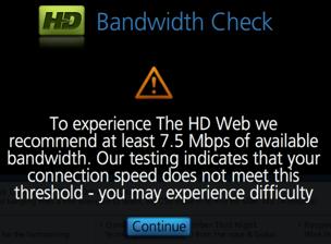 Low Bandwidth