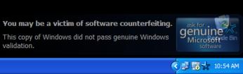 Microsoft to tweak WGA Notifications on Windows XP