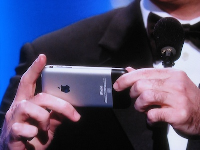 John StewartÂ's iPhone: Product placement or pop culture?