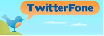 Update your Twitter feed by voice with Twitterfone