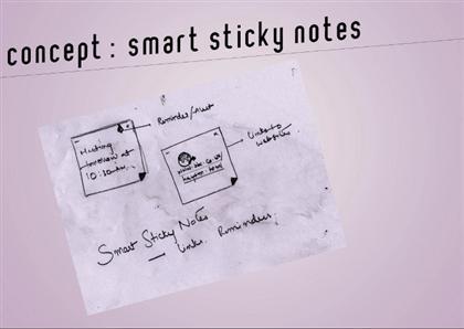 Windows 8 Smart Sticky Notes
