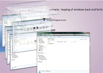 Windows 8 Leap Animation