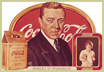 Robert Woodruff, former CEO of Coca-Cola Co.