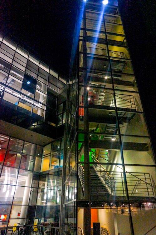 Googleplex at night