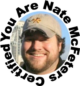 Nate McFeters Certified