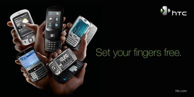 HTC Set Fingers Free