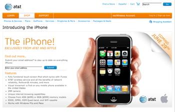 iPhone site