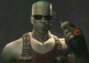 Duke Nukem Forever lives!  Yeah!
