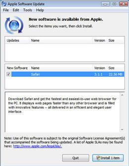 Apple tweaks Software Updater following criticism
