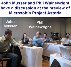 John Musser and Phil Wainewright Discuss Project Astoria