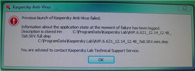 Friday Rant - When antivirus software goes bad