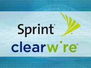 Sprint Clearwire logo from CNET