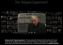 Mojave Experiment