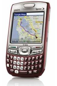 The next WM Palm Treo may be the first with 320×320 and integrated WiFi
