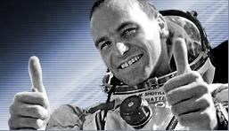 Mark Shuttleworth in space