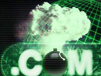 Dot Bomb illustration from CNET
