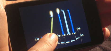 Chanukah comes to the iPhone, Touch with iMenorah