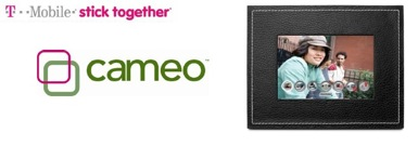 T-Mobile announces the cameo wireless photo frame to display camera phone images