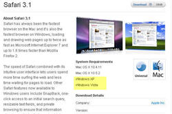 Apple pushes Safari to unsupported operating systems