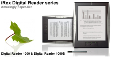 iRex announces 3 new ebook readers priced from $649 to $849