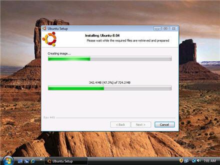 Installing Ubuntu 8.04 alongside Windows