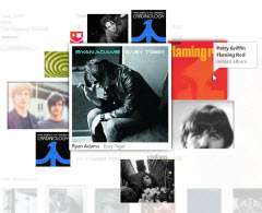 Mixview allows you to find music thatÂ's related to a favorite artist or album