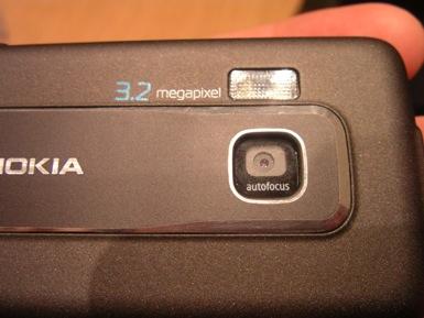 Nokia Navigator camera