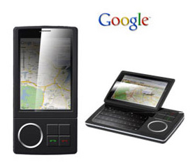 HTC Dream phone, picture from Google, May 2008