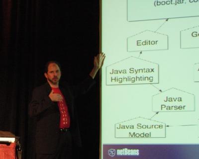 Tim Boudreau shows how NetBeans is designed