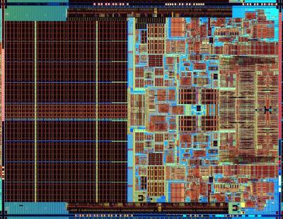 Intel Core 2 die