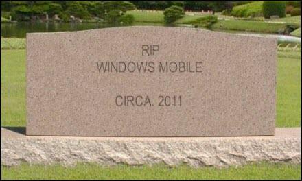 RIP Windows Mobile