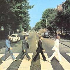 Abbey Road CD cover by The Beatles from Amazon.com