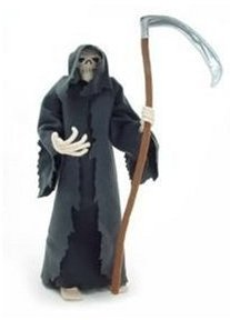 Grim Reaper doll from Monty Python, from Amazon.com