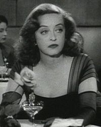 Bette Davis in All about Eve trailer, from Wikimedia commons