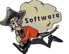 Software piracy cartoon